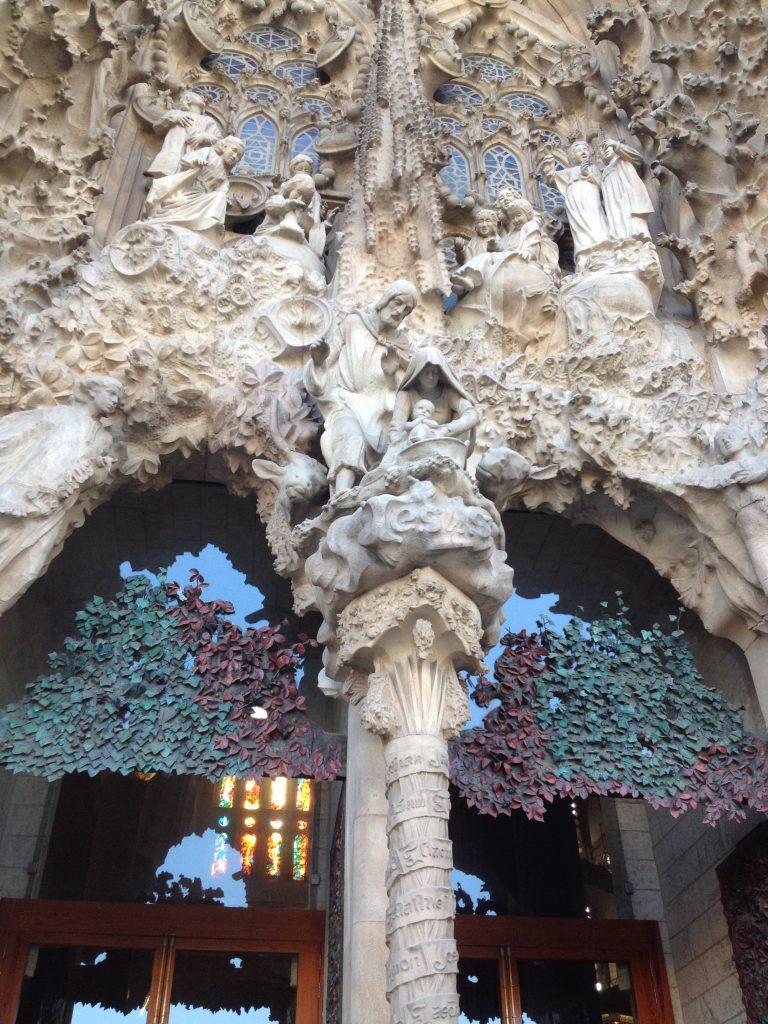 façade Sagrada OML