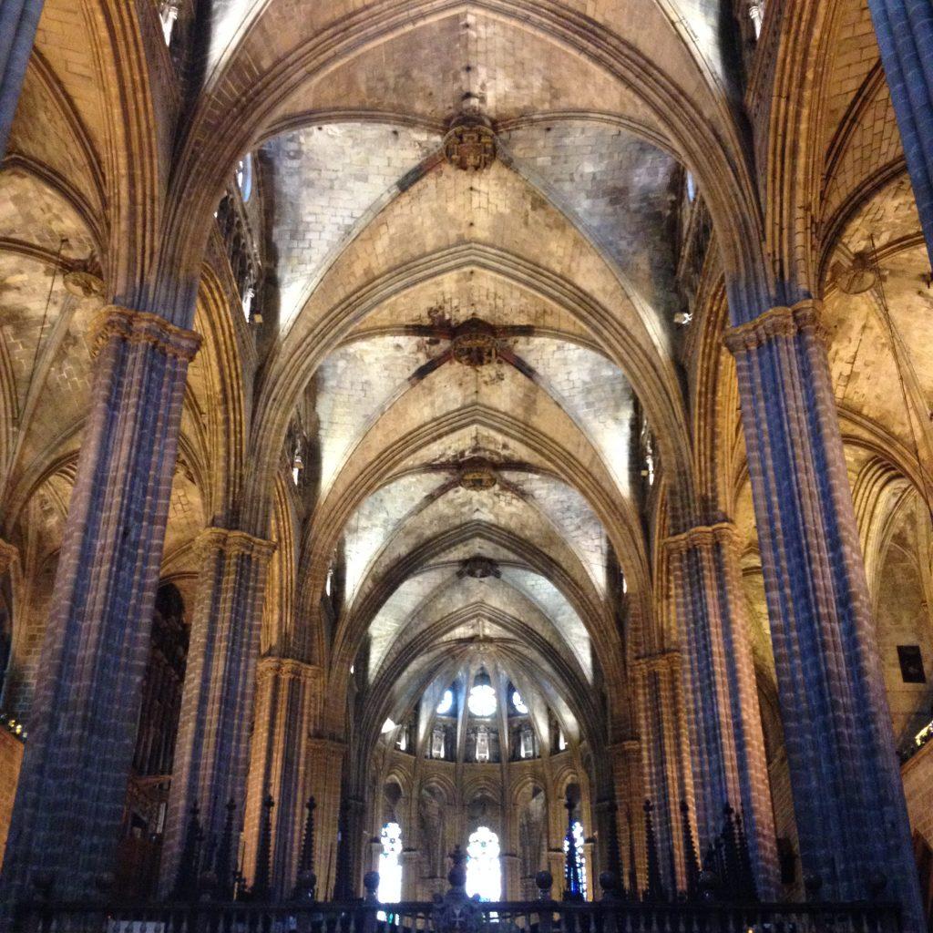 vue intérieur catedral OML