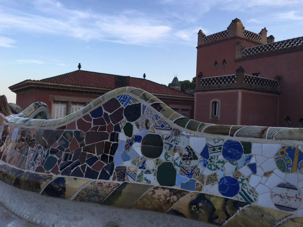 Banc parc guell OML