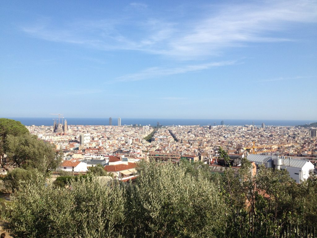 vue de barcelone OML